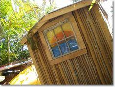 Backyard Bamboo Shed
