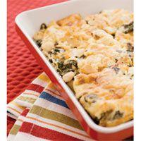 Chicken and spinach casserole
