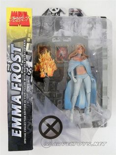 Emma Frost  Marvel Select 2005 Figures - 2005  /// Pinned by: Marvelicious Toys - The Marvel Universe Toy & Collectibles Podcast [ www.MarveliciousToys.com ] marvelici toy, univers toy