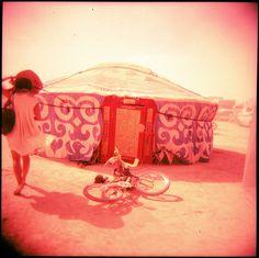 Burning Man Yurt