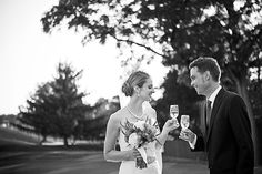 Classy image from D Coleman Photography #wedding #photography #bride #bouquet #champagne