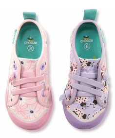 This Pink & Lavender Drift Pastel Favorite Sneaker - Kids by CHOOZE is perfect! #zulilyfinds