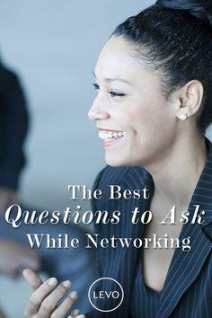 Better questions = Better networking