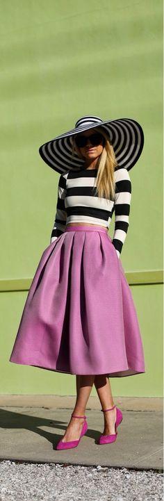 pocket skirt, full skirts, color, skirt tho, dress, shoe, stripe, hat