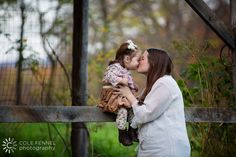 Mother daughter pictures by Cole Fennel Photography.  So sweet!