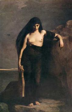 Circe, goddess, daug