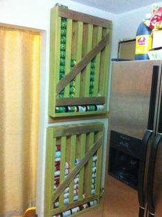 DIY canned food storage