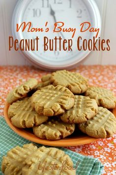 Yesterfood : Peanut Butter Cookies (Cake Mix)