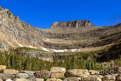 Lunch Creek Basin : See more images at http://robert-bales.artistwebsites.com/