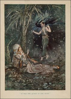 Charles Folkard — Queen of the Night — circa 1915