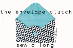 envelop clutch, sewing machines, diaper bags, amaz stamp, sewing crafts, diy clutch, baby gifts, clutch pattern, craft tutorials