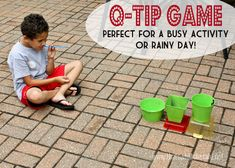 Q-Tip Game at thatswhatchesaid.net #kids #game