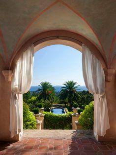 pool, dream, california, gardens, beauti, window treatments, view, place, homes