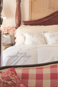 FRENCH COUNTRY COTTAGE: Bedding & Inspirations
