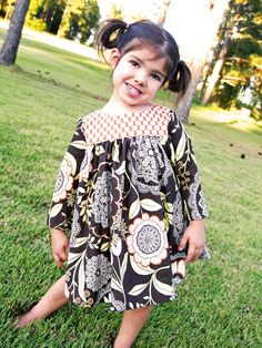 Emory Dress  (sizes 12 /18 months to 6) PDF Sewing Pattern and Tutorial. $7.00, via Etsy.