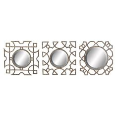 I pinned this 3 Piece Arthur Wall Mirror Set from the Brindenhouse Lane event at Joss and Main!