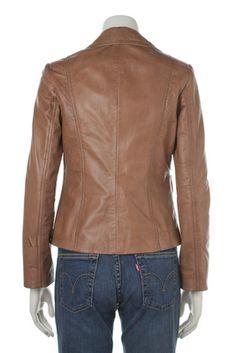 Custom made womens leather jacket