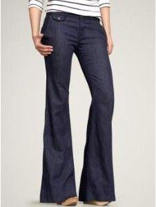 New wide leg trouser jean-Gap