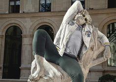 Street Stone, hipsters en el Louvre