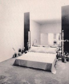 Halston's Bedroom at 101 East 63rd Street, NYC