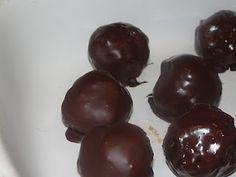 Chocolate Covered Pecan Pie Balls
