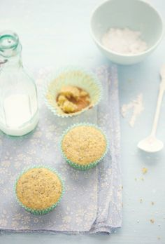 lemon poppy seed cupcakes-Gluten Free