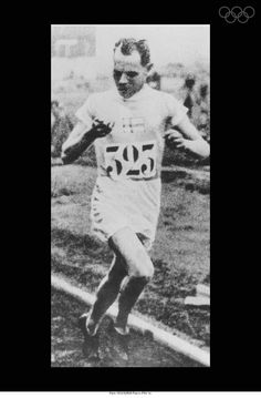 Paris 1924-NURMI Paavo (FIN) 1st. Add Around The Rings on www.Twitter.com/AroundTheRings & www.Facebook.com/AroundTheRings for the latest info on the Olympics.