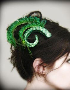 Tentacle hair clip.