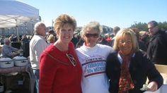 '50s weekend  Darlene Heym, Joan Troiano, and Janet Diantonio sold T-shirts.