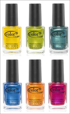 Color Club Take Wing Collection for Summer 2012