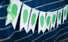 Silhouette banner idea karaspartyideascom, boy parti, birthday parties, silhouett banner, birthday idea, birthday party themes, giftparti idea, 1st birthdays, kara parti
