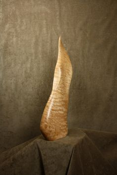 Abstract Art Wood Carving Sculpture 5th by TreeWizWoodCarvings, $255.00