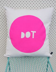 Henry & Co Dot Cushion Cover