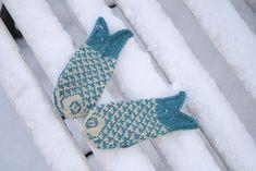 patterns, knit diy, goldfish mitten, diy project, kids, ravelri, kid knit, ravelry, crochet idea