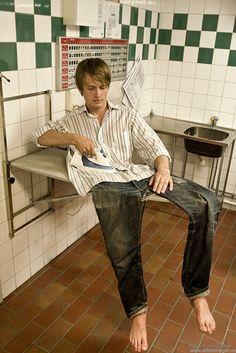 Ironing yourself | #composing #photo #digitalart #manipulation #photoshop #creative <<< repinned by www.BlickeDeeler.de