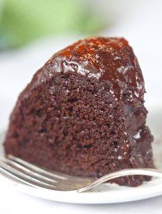 Dark Chocolate Chipotle Cake ~ Vegan and Gluten Free