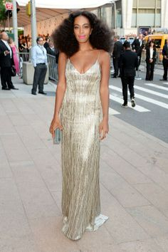 Solange Knowles in Calvin Klein Collection / Getty Images
