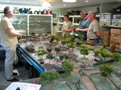 Lord Ashram's House of War: Some of my favorite wargames rooms