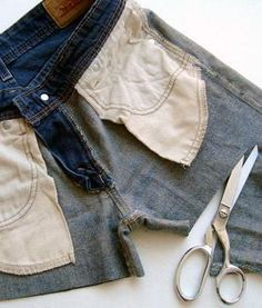 The RIGHT way to cut your jeans into shorts