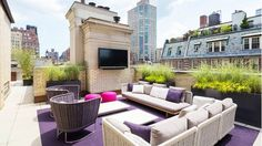 The Must-See outdoor patio space of Jimmy Choo's Founder via @domainehome