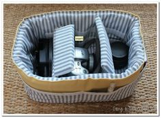 CAMERA BAG INSERT - DIY | SheRocS
