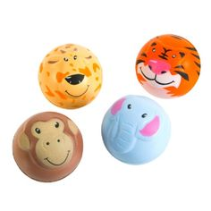 2-inch Zoo Animal Squeeze Ball (1 Ball) at theBIGzoo.com, a family-owned gift shop with 12,000+ animal-themed items.