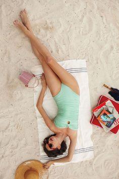 mint green, color, swimsuit, makeup tips, anthropologie, honeymoon destinations, look books, beach, destination weddings