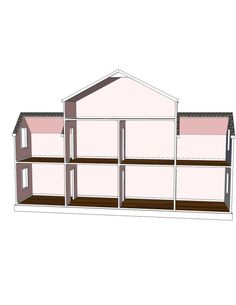 Doll House Plans 9 Room Option For American Girl By