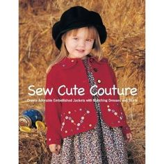 little dresses, sewing, books, sew book, jackets