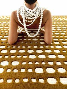 Codigo carpet by GAN.  #introdesign #carpets #design #textiles #rugs