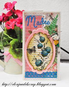 Tarjeta día de las madres / Mother's day card / Penny Black delicate florals