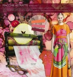 FASHION VIGNETTE: TRENDS // ELEMENTS - COLORS AND MATERIAL TRENDS . S/S 2015
