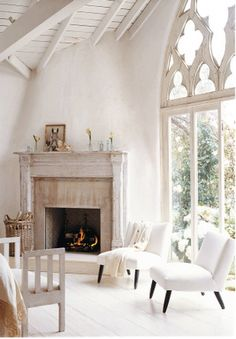 Note the painted woodwork in a vintage environment. People (men) are often afraid to paint old wood thinking it will ruin value of the home.  In fact, it preserves the feel and actually highlights the moldings better.  CL