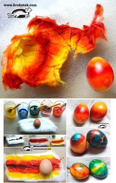 Eggs in cotton